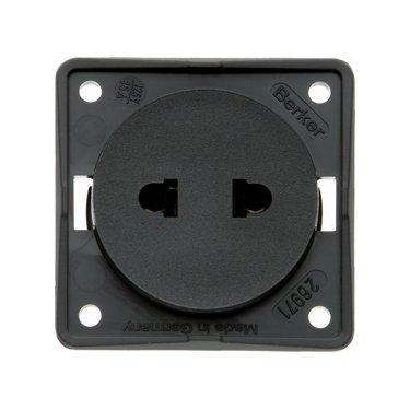 Berker Euro American socket 9-6257-25-XX