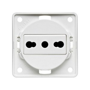 Berker Italian socket outlet 9-6251-25-XX