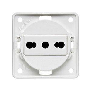 Berker Italian socket outlet 9-6251-25-XX