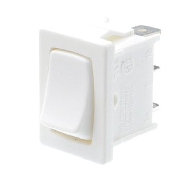 White rocker switch - A11132200000