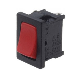 Red rocker switch - A11331900000