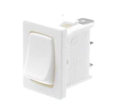 white changeover rocker switch - A11332200000