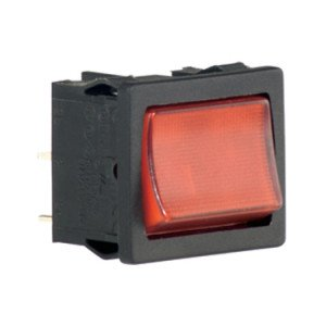 Red illuminated rocker switch - A41831G00000