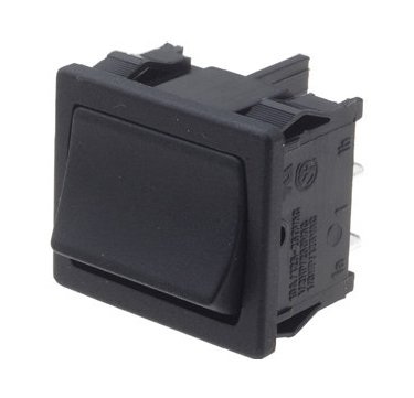 Changeover Rocker switch 22x19mm - A41L31100000