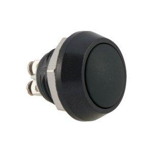 Black Push Button Switch - AB-AV-1201