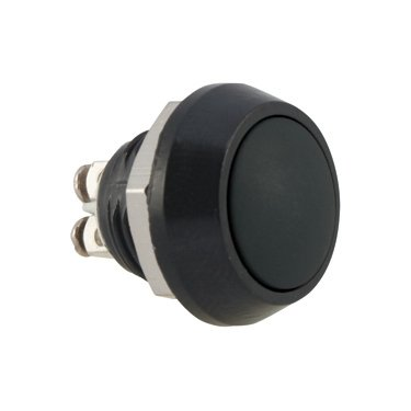 Black Push Button Switch - AB-AV-1201