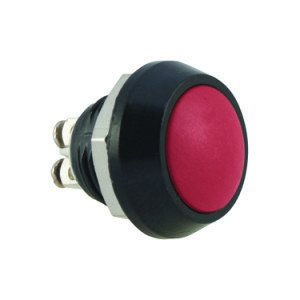 Red Push Button Switch - AB-AV-1202