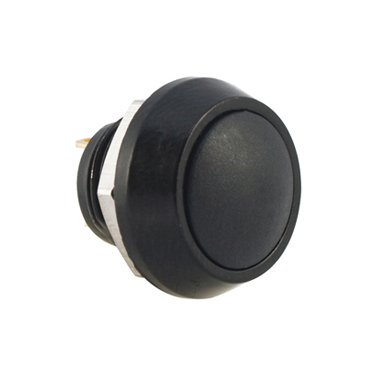 Black 12mm Push Button Switch - AB-AV-1205