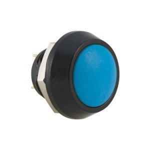 Blue Push Button Switch - AB-AV-1206