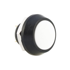 White Push Button Switches - AB-AV-1208