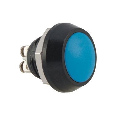 12mm Blue Push Button Switch - AB-AV-1211