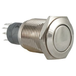 vandal proof push button switches - AB-AV-1607