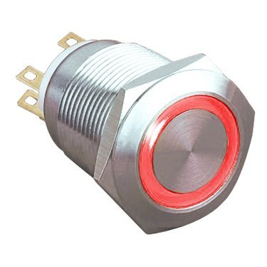 Ring Illuminated Vandal Switches - AB-AV-907