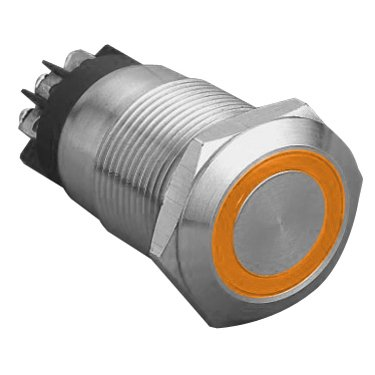 Ring Illuminated Vandal Proof Switch - AB-AV-930