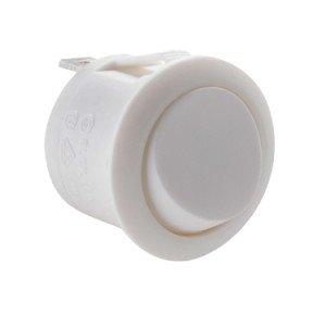 White Round Rocker Switch - ABRR022