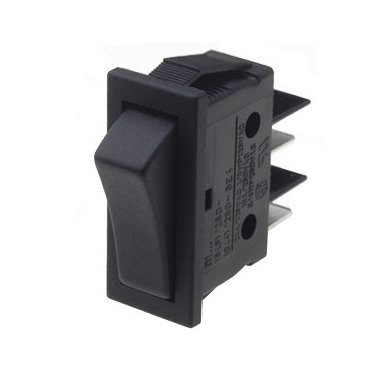 Rocker Switch Momentary - B114C11000000