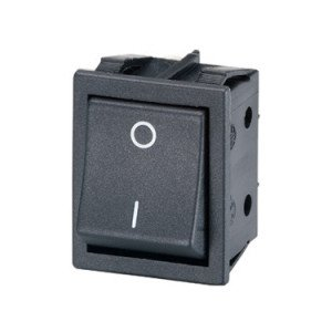 Rocker Switch DPST - B412C11210000