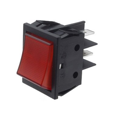 Illuminated Rocker Switch - B418C1G000000
