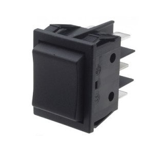 Centre Off Momentary Rocker switch - B41J411000000