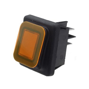 Splash Proof Rocker Switches IP65 - B4MASK48N1A0000