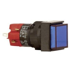 Square Push Button Switch - D16LAS1-1AB