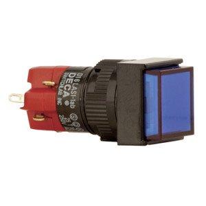 16mm Square Push Button Switch - D16LMS1-1AB