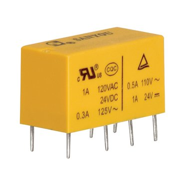 5V Miniature Power Relay - DSY2Y-S-205L