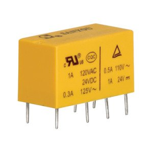 24V Miniature Power Relay - DSY2Y-S-224L