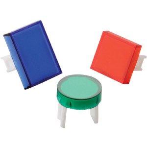 16mm push button switch colour lenses