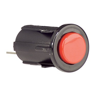 Red momentary push button switch - P12431900000