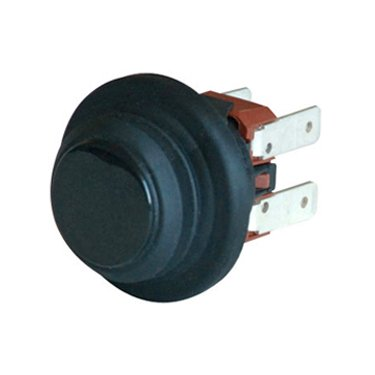 Splash proof push button switch - RMASK122C1N00000