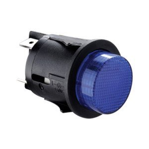 Blue illuminated push button switch - SP6018C1F0000