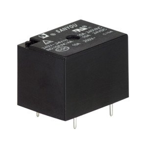12V Miniature Power Relay - SRDH-S-112D
