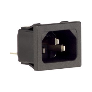 C14 IEC Connector - STS350A1