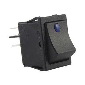 Rocker Switch Blue Dot Illuminated - SX8231881100F000