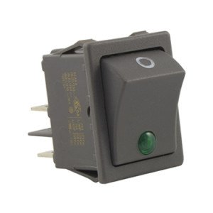Rocker Switch Green Dot Illuminated - SX8231886626E000