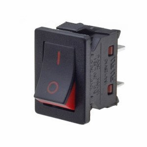 Red flash rocker switch - TECNO11131191000