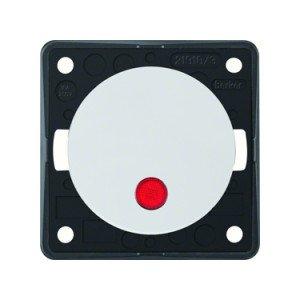 Berker rocker switch 12V red dot LED - 9-3762-25-XX
