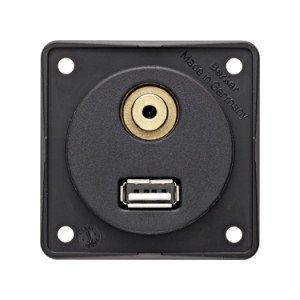 Berker USB audio socket outlet - 9-4583-25-XX