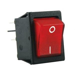 rocker switch 22x28mm red - SX8211881G210093
