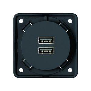 3A USB charging socket - 9-2610-25-XX