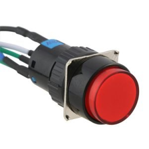 push button switch with leads - AB-PB-1003