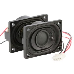 4ohm miniature speaker set - ABS-246-RC